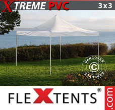 Flextelt 3x3m Transparent