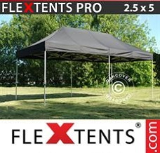 Flextelt 2,5x5m Sort